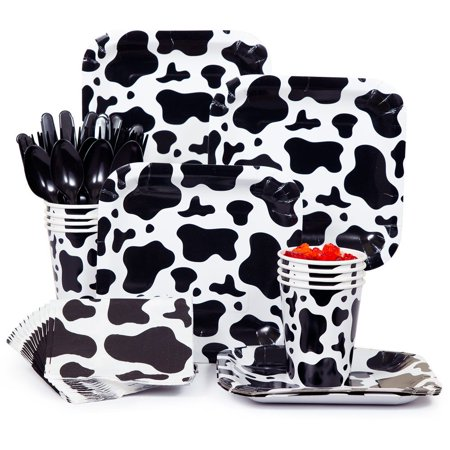 Cow Print Snack Party Pack (Cow Print Party Supplies)