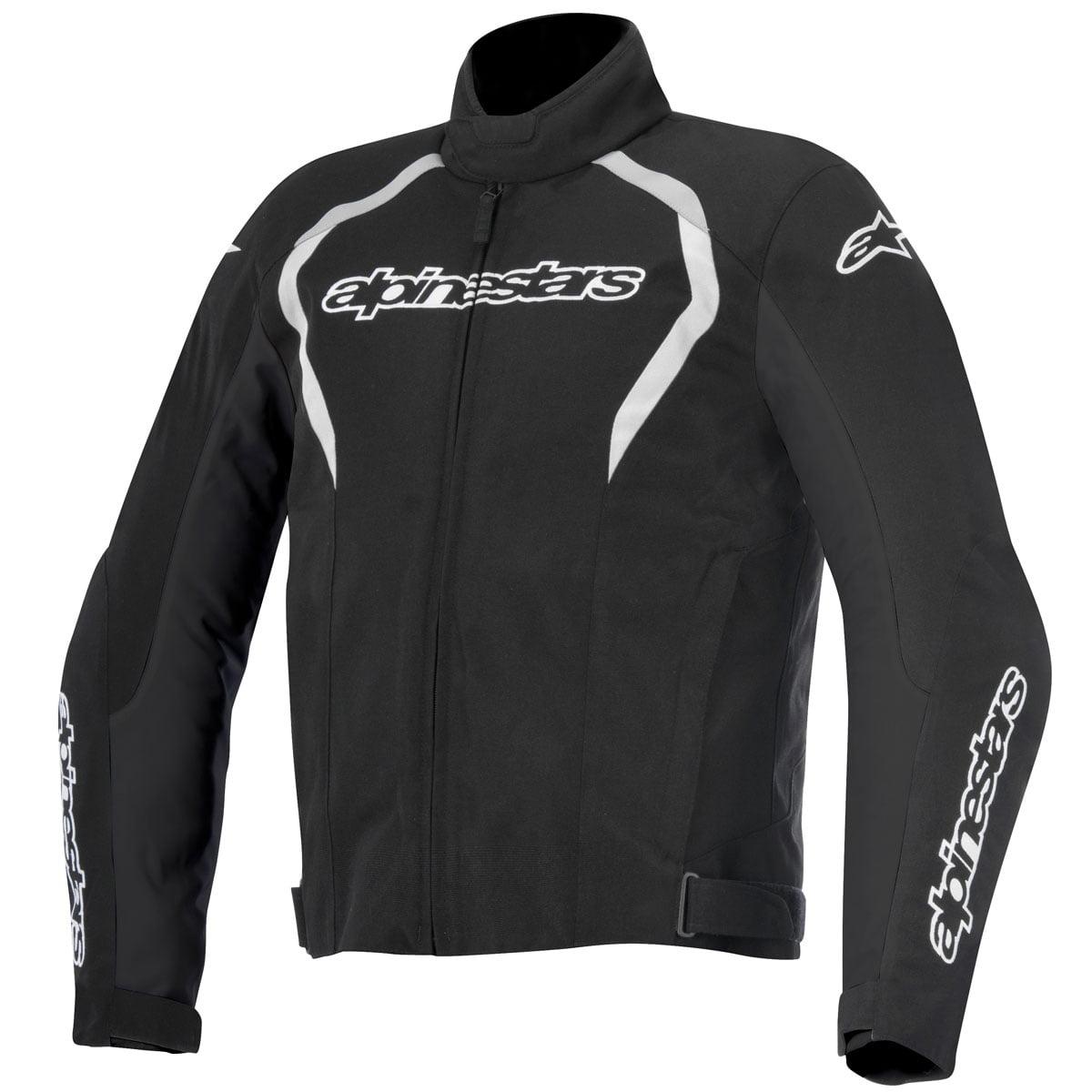 Alpinestars Fastback Mens Waterproof Textile Jacket Black/White