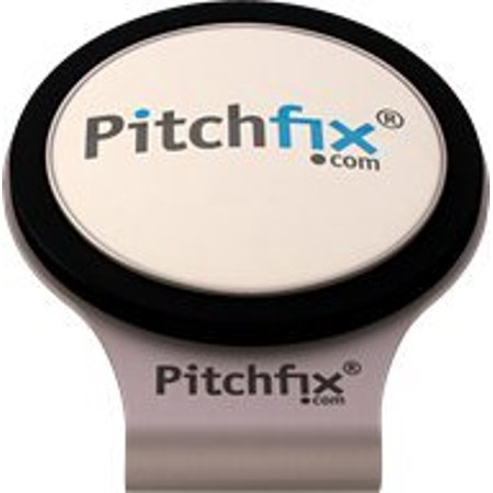 Pitch Fix Golf Hat Clip Magnetic Premium Free Golf Ball Marker Stainless Steel Anti Scratch Anti Rust (Stainless Steel Magnetic Golf)