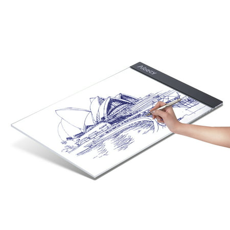 Portable A4 LED Light Box Drawing Tracing Tracer Copy Board Table Pad Panel Copyboard with USB Cable for Artist Animation Sketching Architecture Calligraphy Stenciling Diamond Painting - image 7 of 7