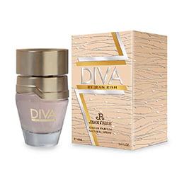 DIVA By JEAN RISH Eau De Parfum Spray for Women, 3.4 FL. OZ. 100ML Perfume ()
