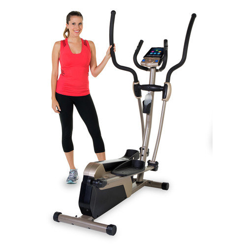 Exerpeutic 5000 Magnetic Elliptical Trainer with MyCloudFitness App