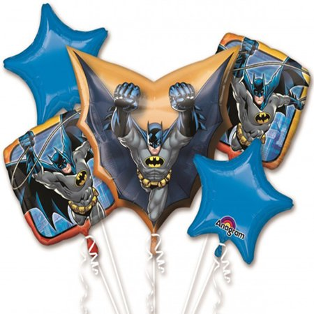 Batman Foil Balloon Bouquet - Batman Balloon