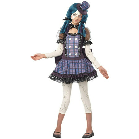 Broken Doll Teen Halloween Costume](Living Dead Dolls Halloween Costumes Uk)