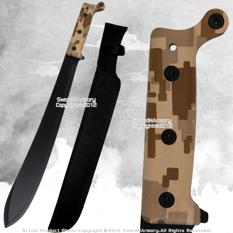 Full Tang Fixed Blade Jungle Machete Fantasy Zombie Hunting Sword Bolo Style BR