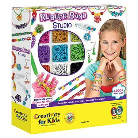 Creativity for Kids Rubber Band Studio (Rubber Bands For Bracelets)