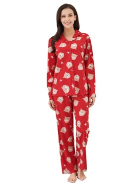 a265fb6c9f44 Red Womens Pajamas - Walmart.com