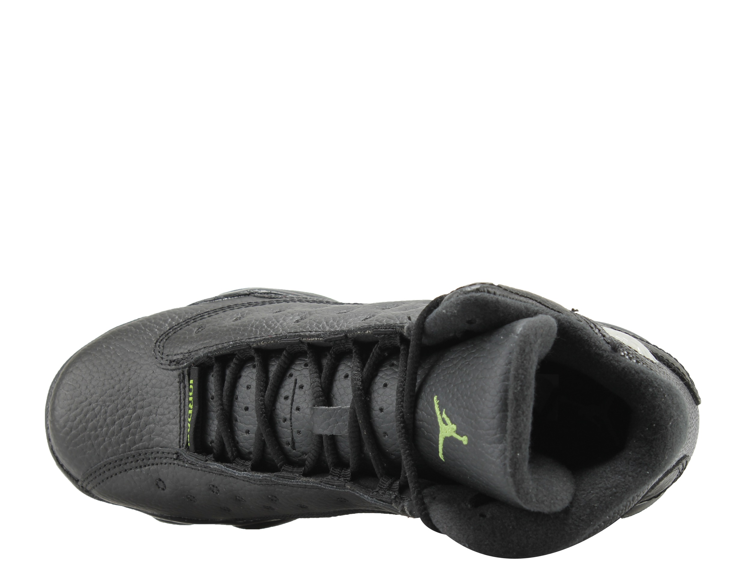 Nike Air Jordan 13 Retro BG Black Altitude Big Kids Basketball Shoes  414574-042 - Walmart.com 22cf3efa1