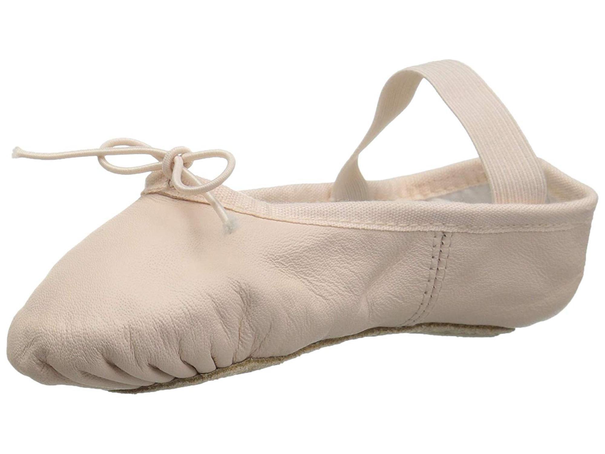 Child Girl/'s Bloch Dansoft Ballet Dance Shoes Black Leather MANY SIZES New!