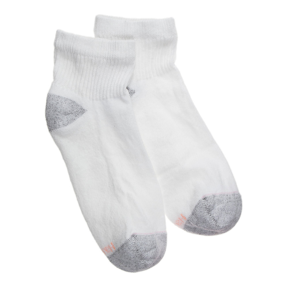 681//1P Womens Ankle Socks Extended Size 10-Pack