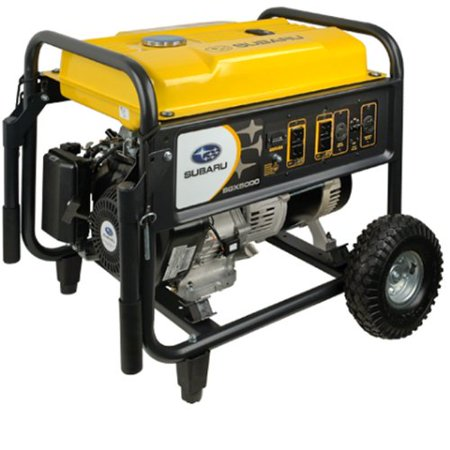 Subaru Sgx5000 9 5 Hp Gas Powered Commercial Generator  4900W