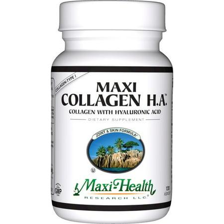 Maxi Santé Collagène HA - Acide Hyaluronique - Joint Formula et la peau - 120 Capsules - casher