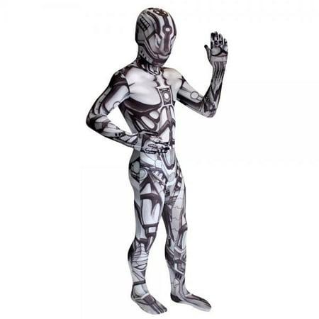morphsuits kids android monster costume - small 3'-3'5/6-8 (Kid's Boil Monster Morphsuit)