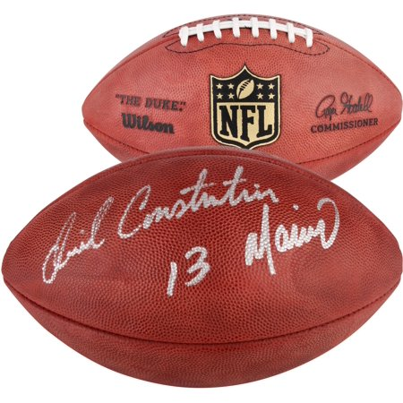 Dan Marino Autographed Pro Football (Daniel Constantine Marino Miami Dolphins Autographed Duke Pro Football - Fanatics Authentic Certified)