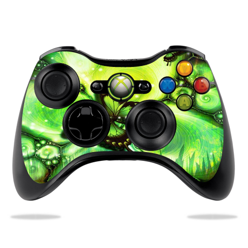 Protective Vinyl Skin Decal Cover for Microsoft Xbox 360 Controller wrap sticker skins Mystical Butterfly