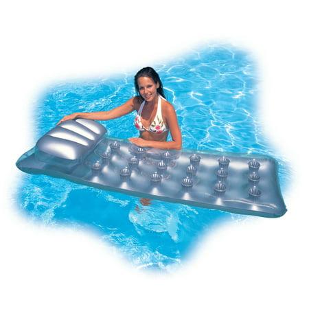 Intex 18-Pocket Mattress Suntanner Pool Lounger w/ Headrest (2 Pack) | 58894EP - image 2 de 5