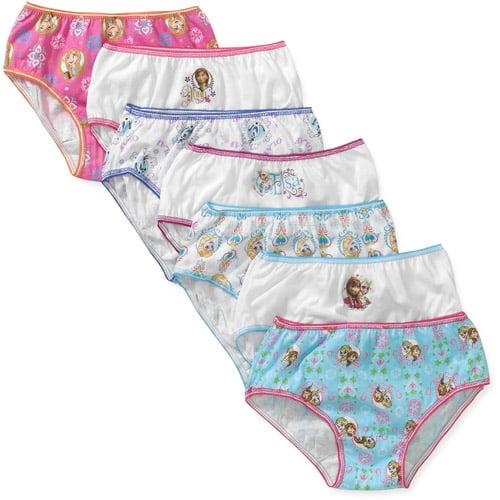 Disney Frozen Girls' Underwear 7 Pack