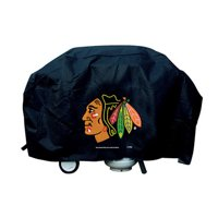 NHL Rico Industries Deluxe Grill Cover, Chicago Blackhawks