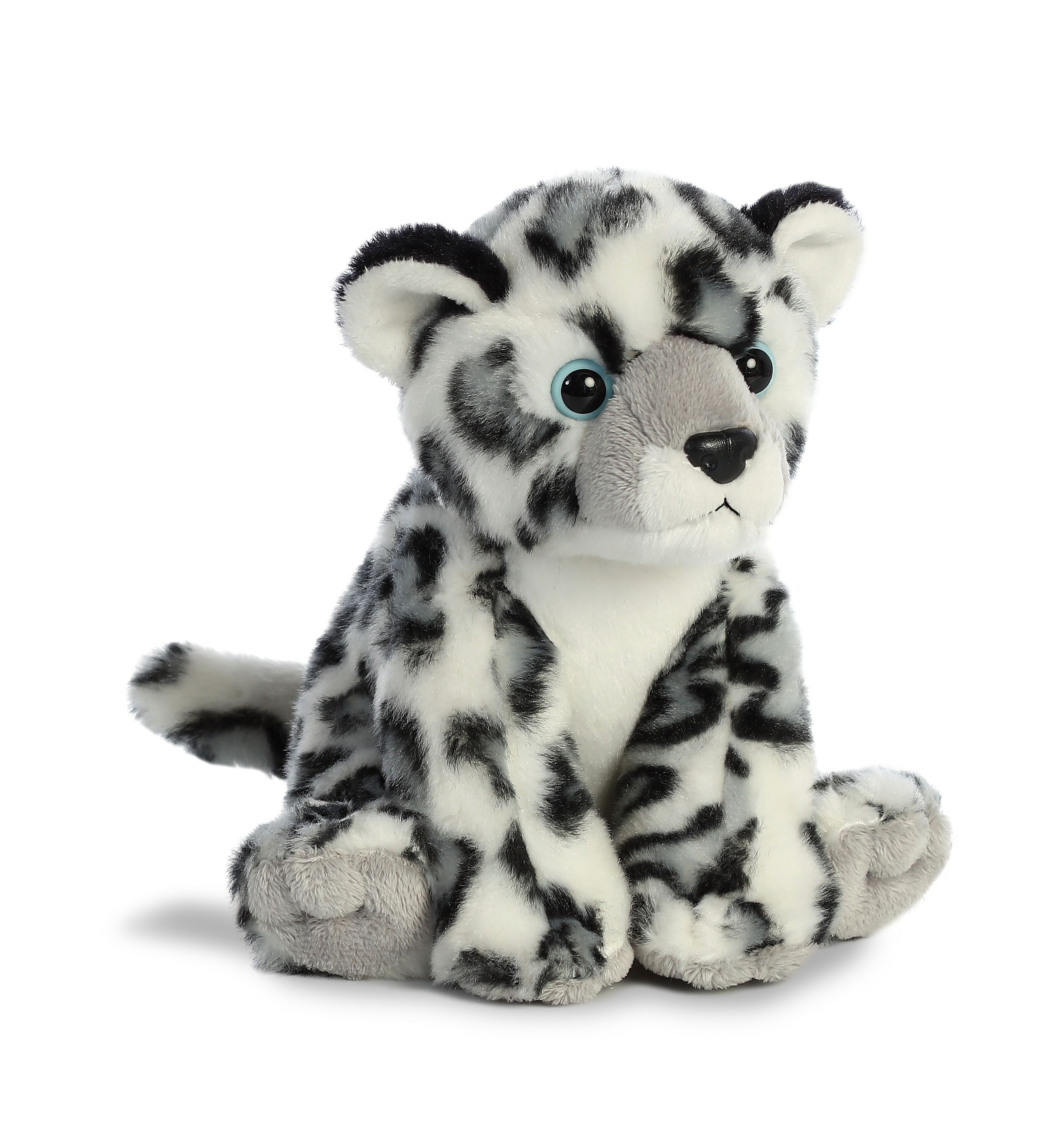 Snow Leopard Small Destination Nation Stuffed Animal By Aurora