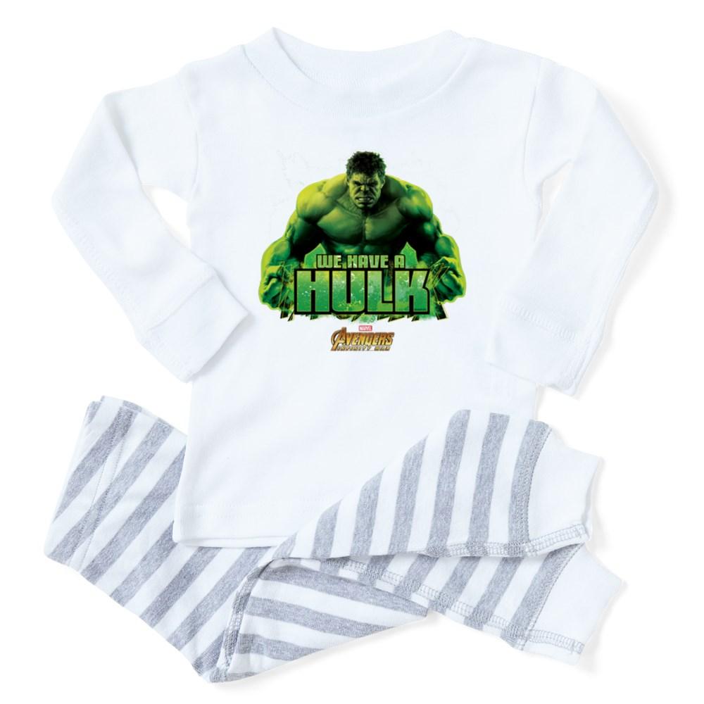 CafePress - Avengers Infinity War Hulk - Toddler Long Sleeve Pajama set