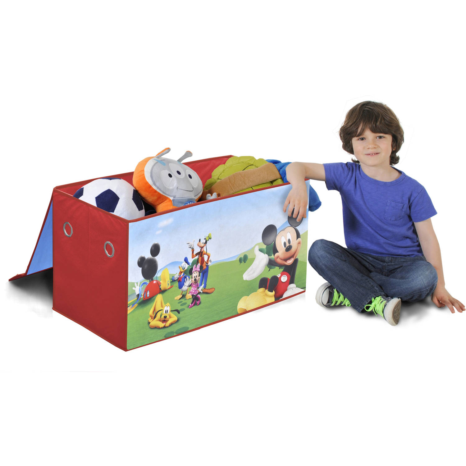 Disney Mickey Mouse Collapsible Storage Trunk   Walmart.com