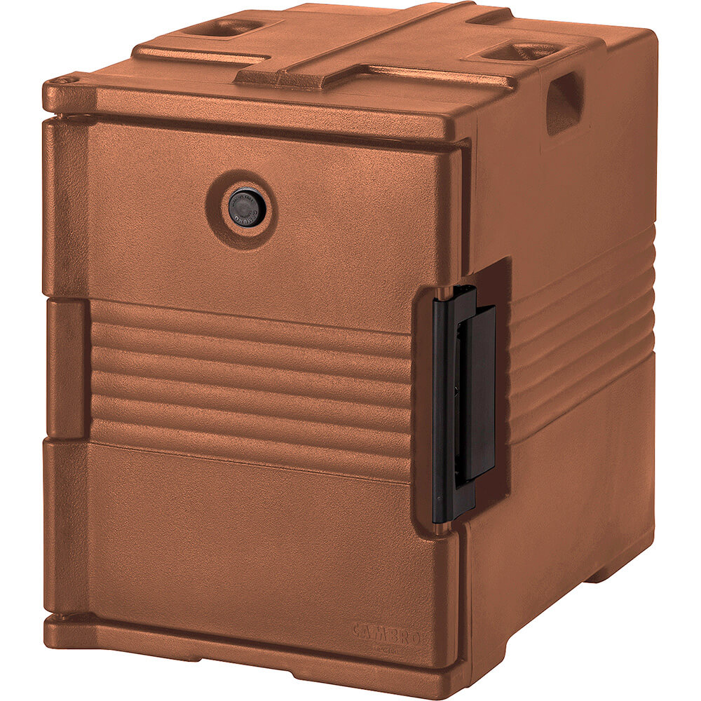 Cambro Ultra Insulated Food Carrier, No Casters, Coffee Beige, UPC400-157