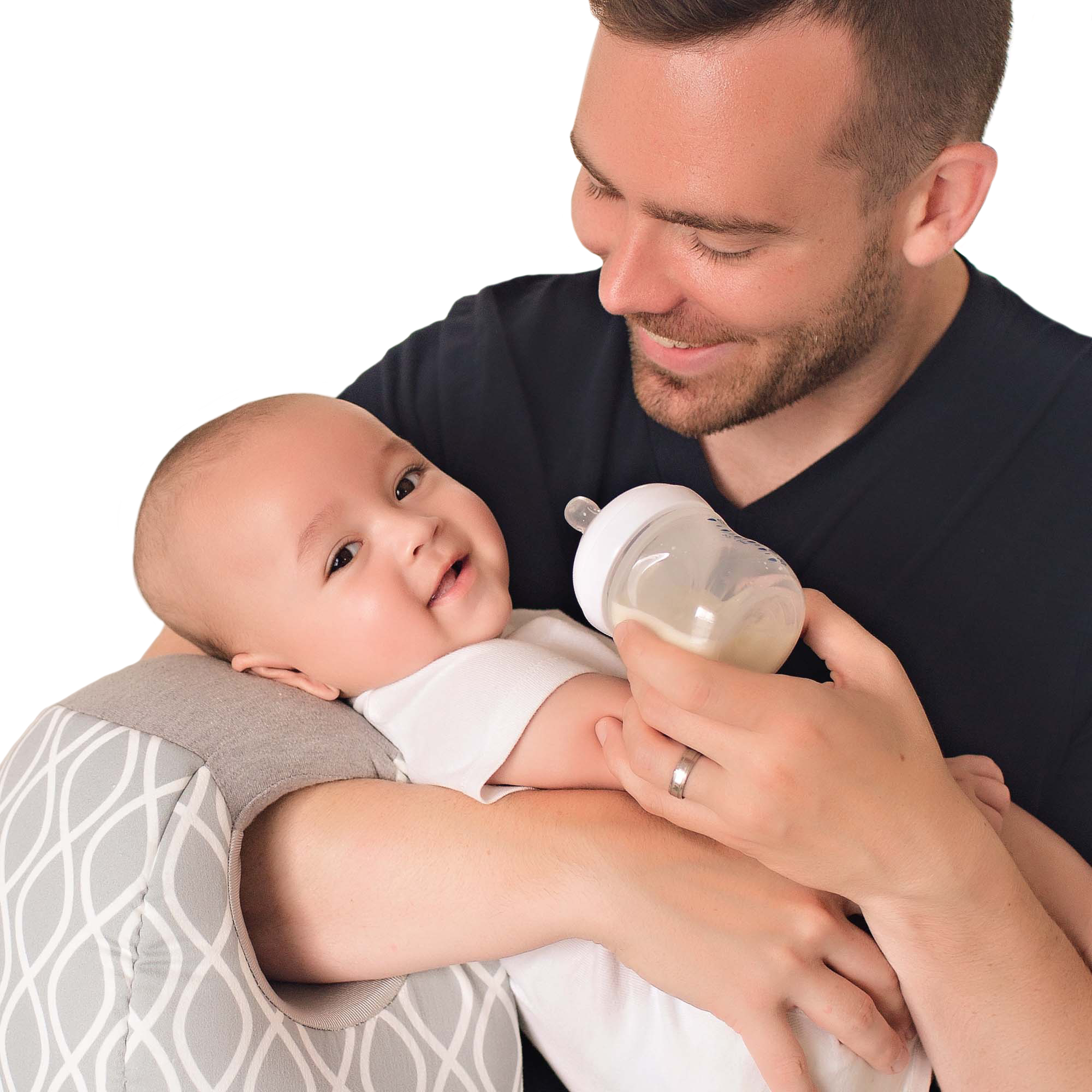 Itzy Ritzy Milk Boss™ Infant Breastfeeding and Bottle Feeding Support Pillow