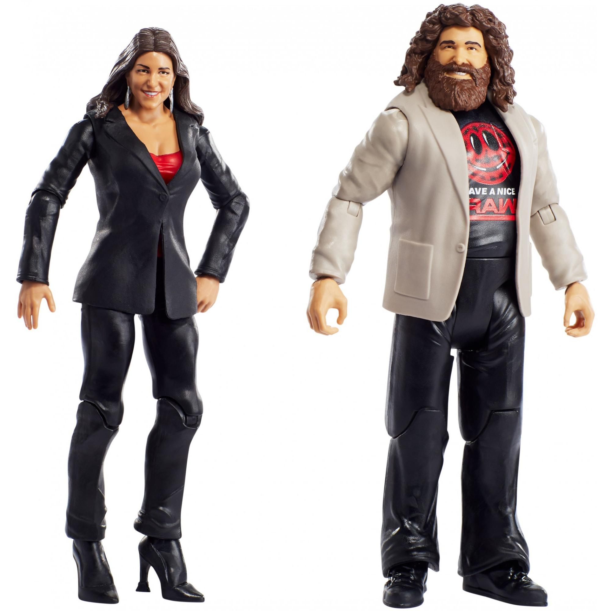 WWE Battle Pack with 2-Collectible Figures (Styles May Vary)