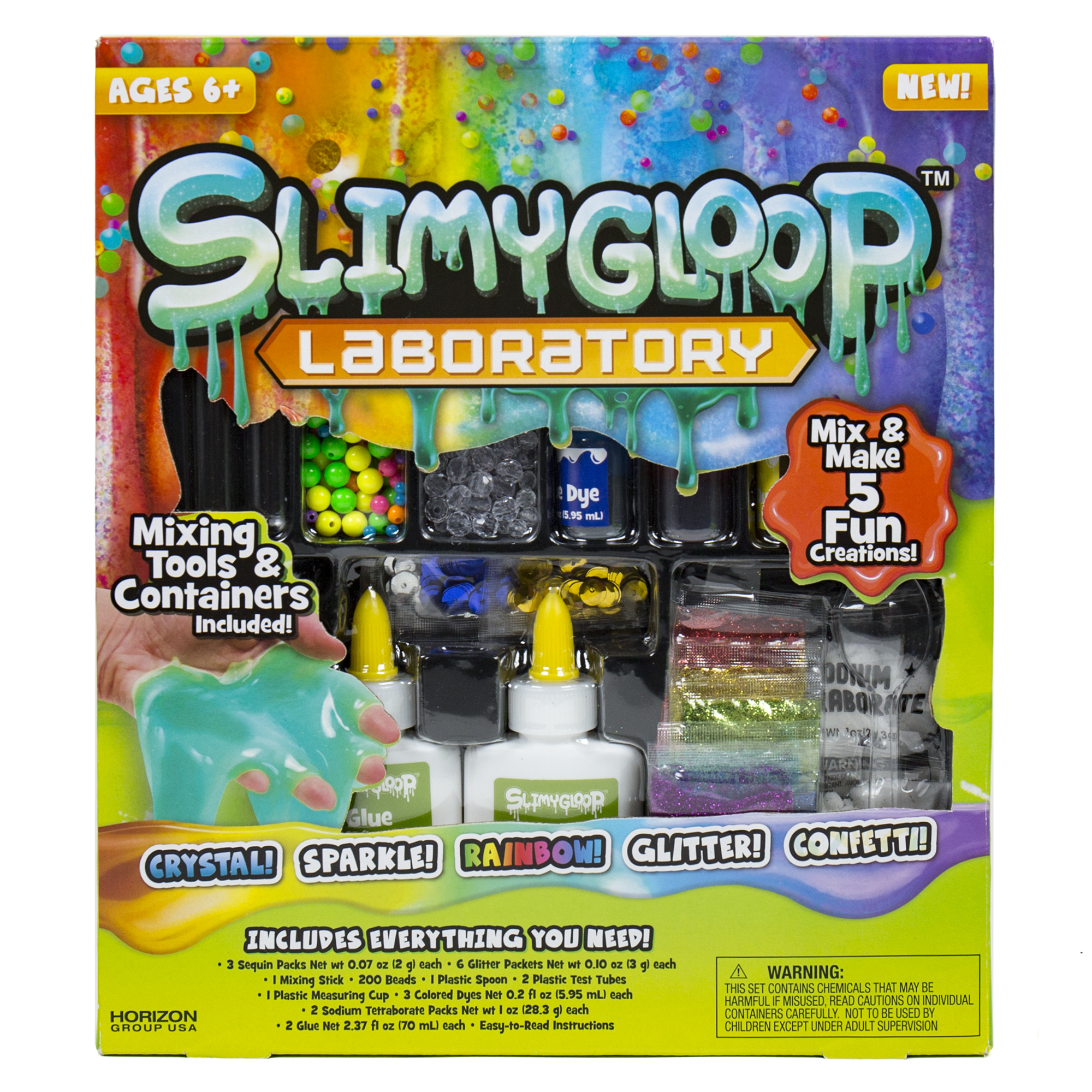 SLIMYGLOOP® Laboratory Slime Kit