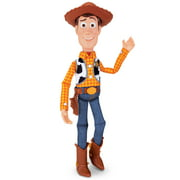 Disney Pixar Toy Story 16 inch Tall SHERIFF WOODY Deluxe Pull-String Talking Action Figure