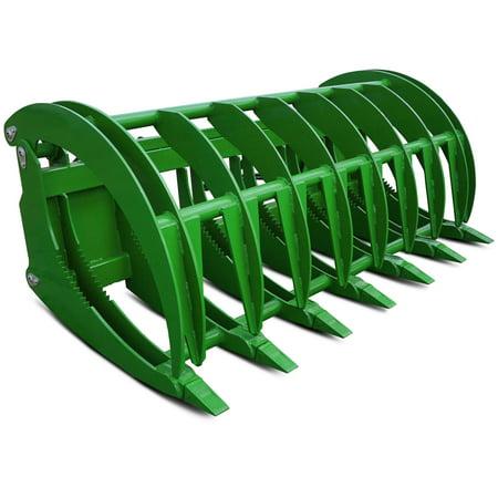 Titan Hd 84   John Deerestyle Tractor Clamshell Attachment Root Grapple Rake Rock
