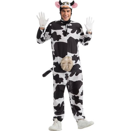 Comical Cow Adult Halloween Costume (Last Minute Mens Halloween Costumes)