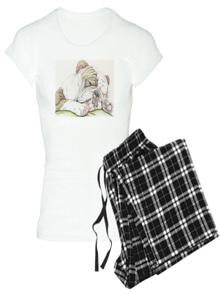 Cute English Bulldog CafePress Womens Pajama Set
