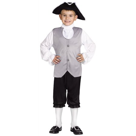 Colonial Boy Child Costume - Medium