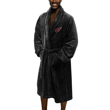 Arizona Cardinals The Northwest Company Silk Touch Robe - Black - L/XL