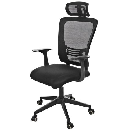 Profession Office Chair Clearance Swivel Ergonomic Computer Black With Dual Wheel Casters Adjustment Lean