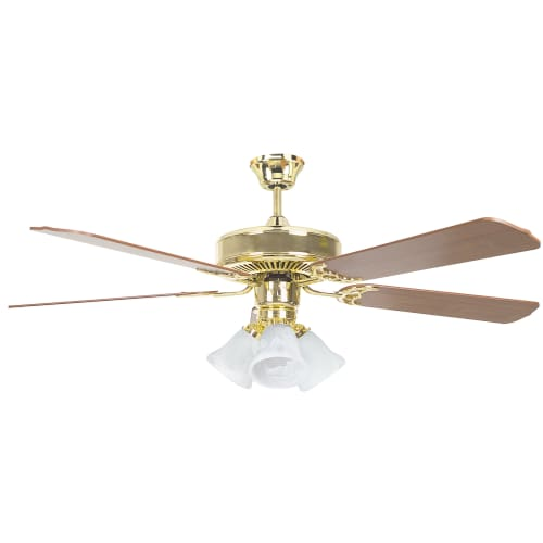 Luminance 52 Inch Five Blade Three Light Ceiling Fan