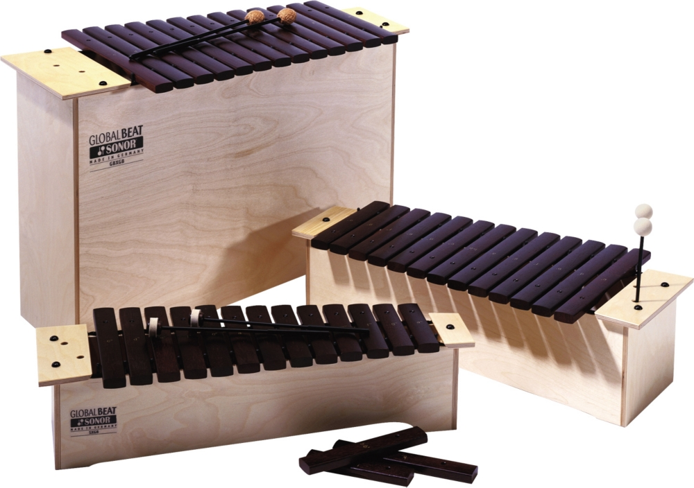 Sonor Global Beat Xylophones Diatonic Soprano, Sx-Gb by Sonor