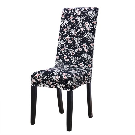 Miraculous Piccocasa Stretch Dining Chair Covers Printed Pattern Pdpeps Interior Chair Design Pdpepsorg