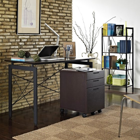 Altra furniture piece home office collection espresso
