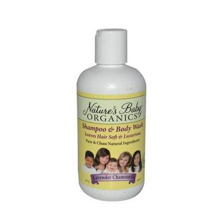 Natures Baby Organics 0177238 Shampoo   Body Wash  44  Lavender Chamomile   8 Fl Oz