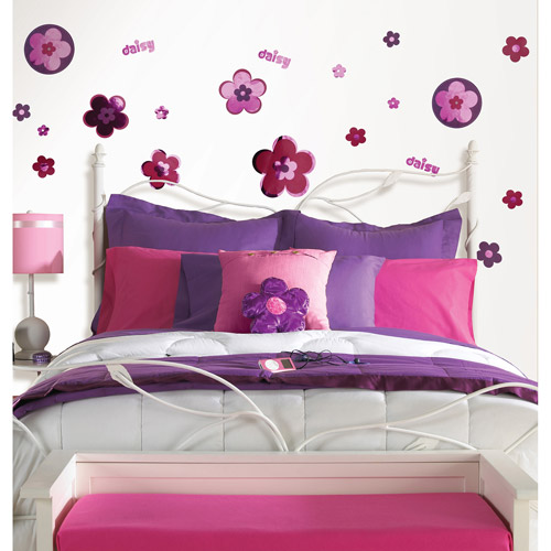 Fun4Walls Diva Daisy Wall Stickers