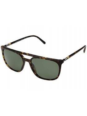 43516de7ca6 Product Image Burberry Men s 0BE4257 Matte Dark Havana Polarized Green One  Size