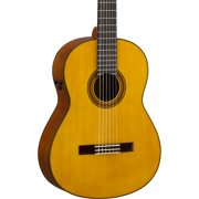 Yamaha CG-TA TransAcoustic Nylon-String Acoustic-Electric Guitar Gloss Natural