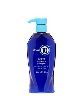 ($22.99 Value) It's a 10 Miracle Moisture Shampoo, 10 fl oz