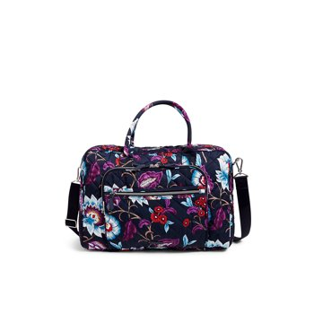 Vera Bradley Women's Performance Twill Lay Flat Weekender Travel Bag