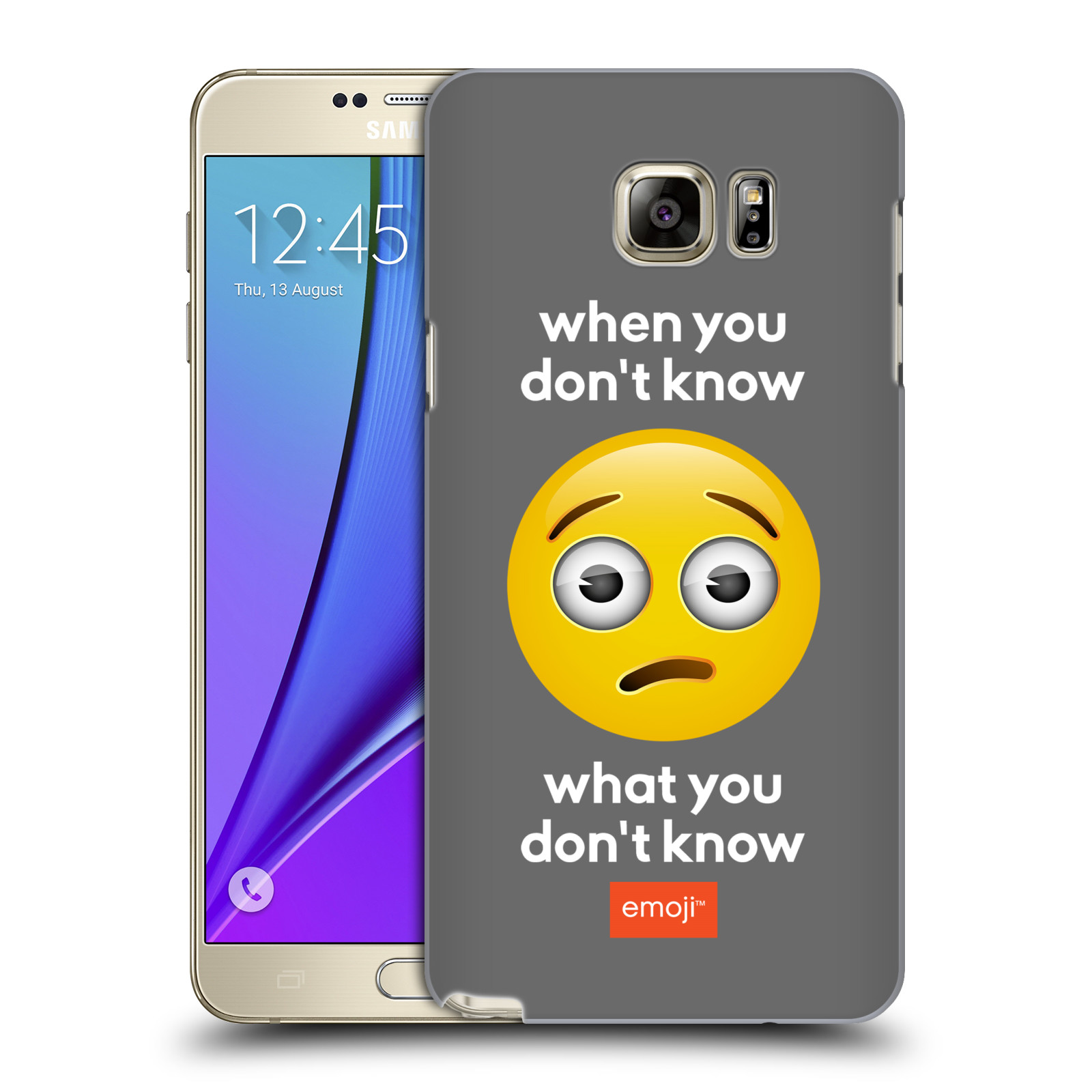OFFICIAL EMOJI SPEAK HARD BACK CASE FOR SAMSUNG PHONES 1