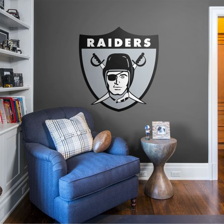 UPC 843767024472 product image for Fathead Oakland Raiders: Original AFL Logo - Giant Officially Licensed NFL Remov | upcitemdb.com