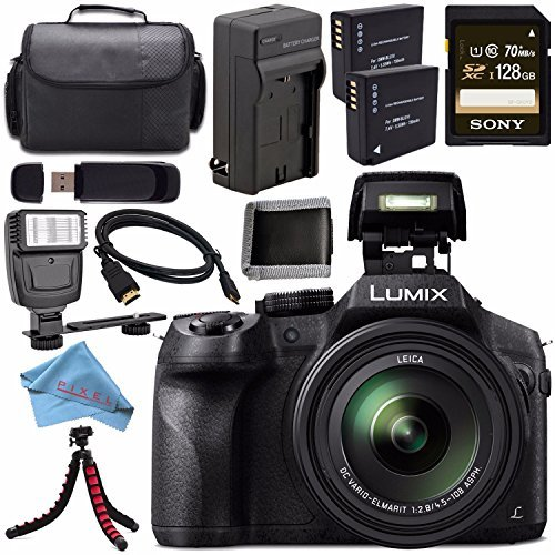 Panasonic Lumix DMC-FZ300 DMC-FZ300K Digital Camera + DMW...