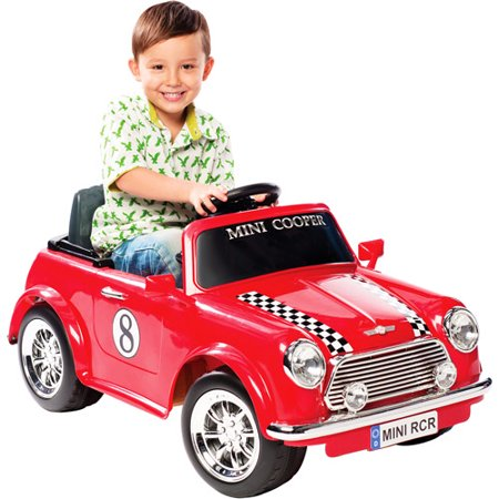mini cooper 6 volt battery powered ride. Black Bedroom Furniture Sets. Home Design Ideas